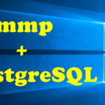 XamppとPostgreSQLの連携
